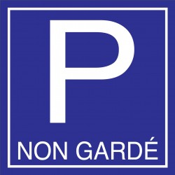 Parking non gardé 500X500mm