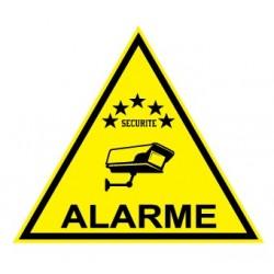 """Etiquette dissuasive """"alarme"""""""
