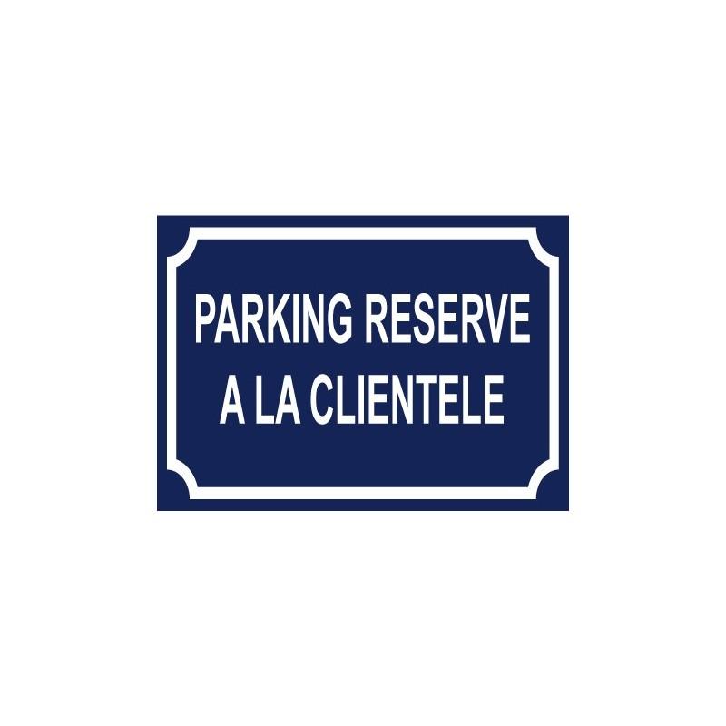 panneau parking r serv la client le. Black Bedroom Furniture Sets. Home Design Ideas