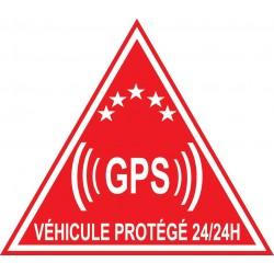 Etiquette dissuasive pour véhicules