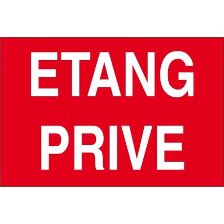 Etang privé