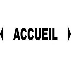 """Signalétique pour manifestations diverses """"ACCUEIL"""""""