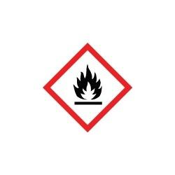 Etiquettes matières inflammables