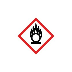 Etiquettes matières comburantes