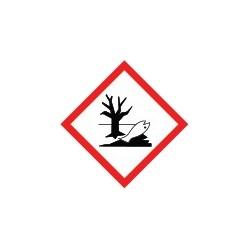 Etiquettes danger pour le milieu aquatique