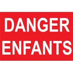 Danger enfants