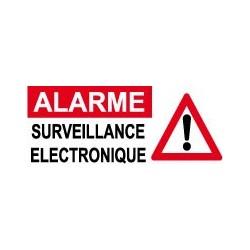 Alarme surveillance électronique danger (lot de 6p)