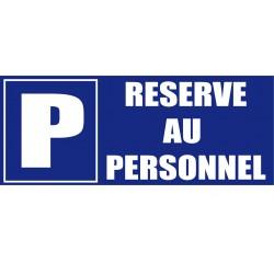 Parking réservé au personnel