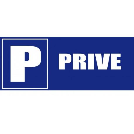 Panneau signalètique Parking privé