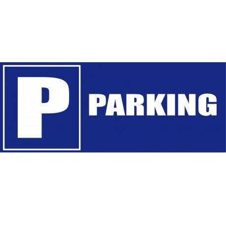 Panneau signalètique Parking