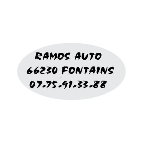 "Signature de coffre auto ""serie ovale"" 150ex"