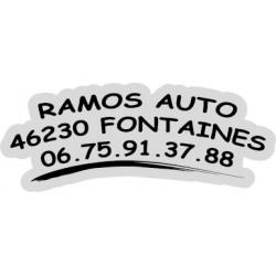 """signature de coffre auto """"serie liner"""" 150ex en noir"""