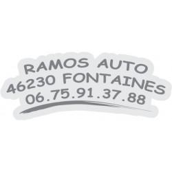 """signature de coffre auto """"serie liner"""" 150ex en GRIS"""
