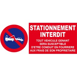 Stationnement interdit ...