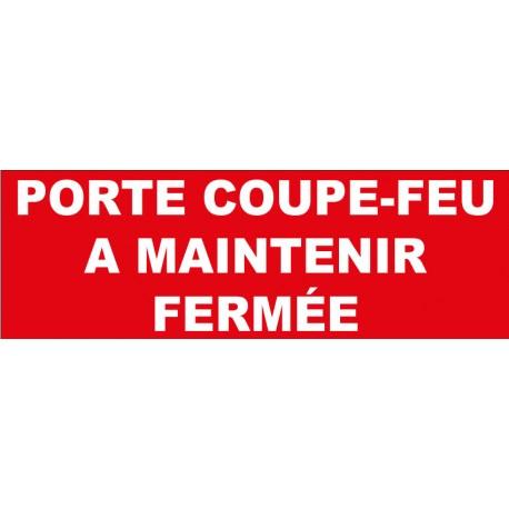 """Adhésif """"porte coupe feu"""""""