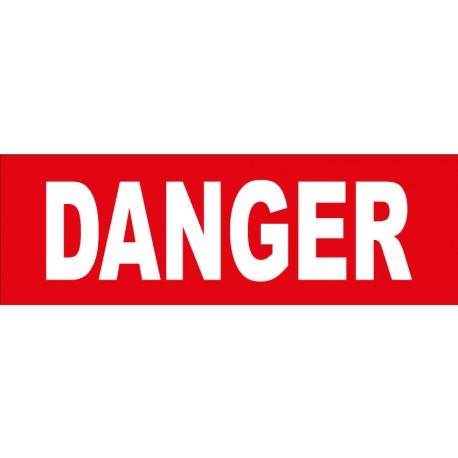"Adhésif ""danger"""