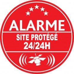 Alarme site protégé 24h24 (lot de 10p)