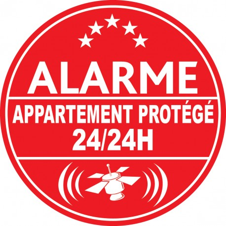 Alarme appartement protégé 24h24 (lot de 10p)