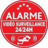 Alarme vidéo surveillance 24h24 (lot de 10p)