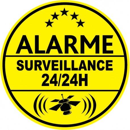 Alarme surveillance 24h24 (lot de 10p)