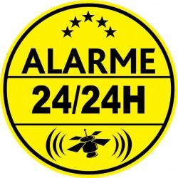 Alarme 24h24 (lot de 10p)